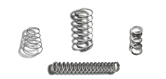 compression, torsion, flat form, and extension springs